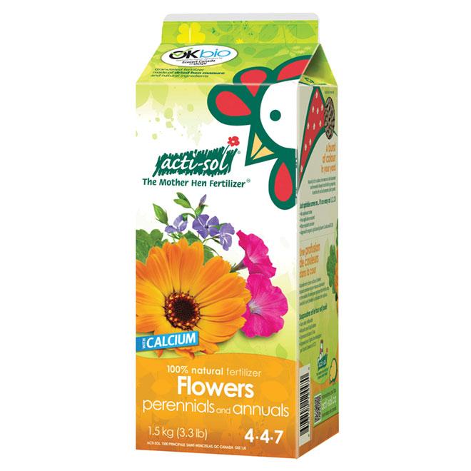 Perennials and Annuals Fertilizer -  4-4-7 - 1.5 kg