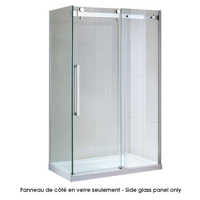 Panneau de coté en verre «Sierra»