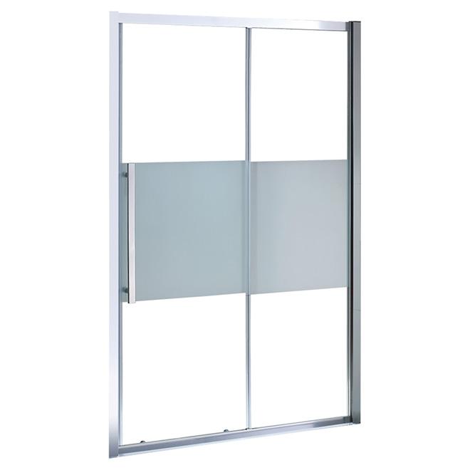 "Melba Sliding Shower Door - 60"" - Clear"