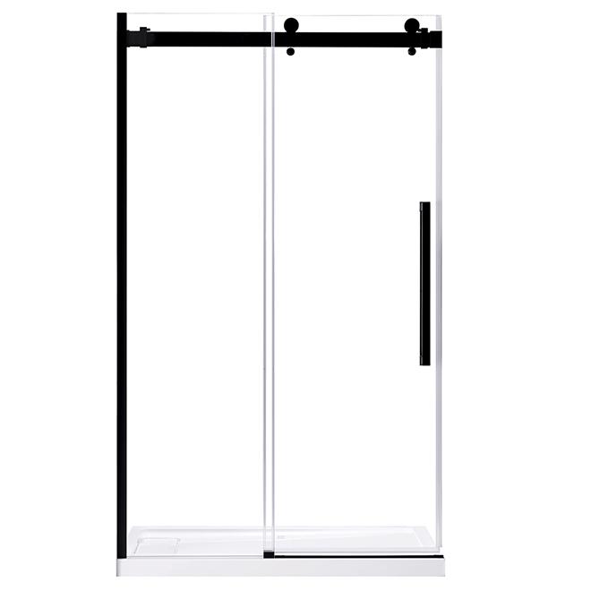 """Sierra Sliding Glass Shower Door - 48"""""""