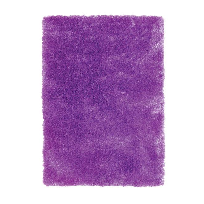 """Jazz"" Area Rug 4' x 5' - purple"