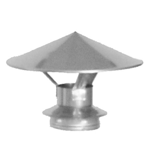"Chimney Rain cap for pellet stove - 4"""