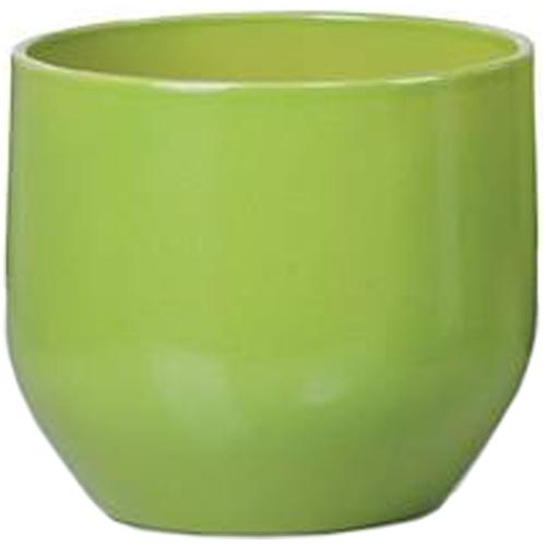 Cache-pot en céramique 13cm - Vert pur