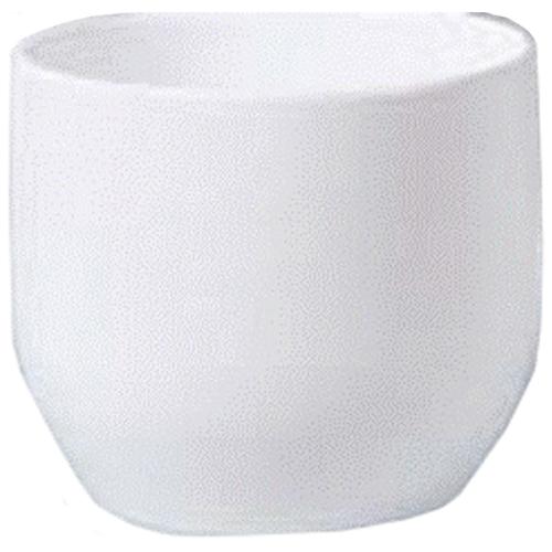 "Pot Cover - ""Panna"" Ceramic Pot Cover 8"" - White"
