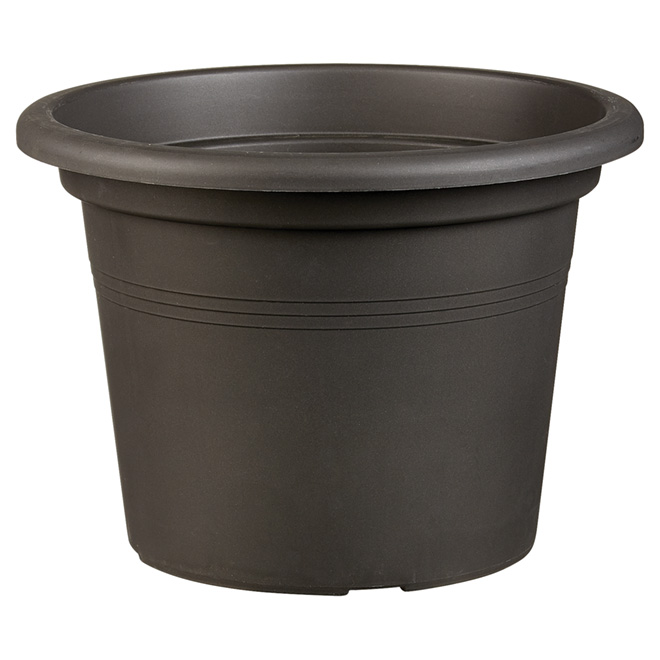 "Planter Pot - ""Cilindro"" - 11.8"" - Anthracite"
