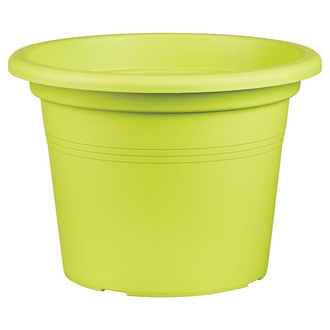 "Planter Pot - ""Cilindro"" - 11.8"" - Green"