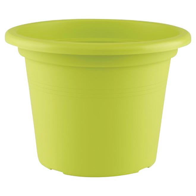 "Planter Pot - ""Cilindro"" - 13.8"" - Green"