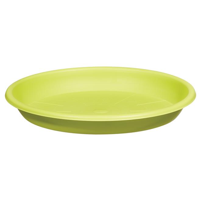 "Planter Saucer - ""Cilindro"" - 10.2"" - Green"
