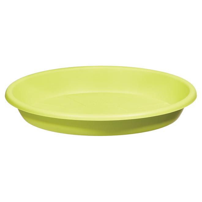 "Planter Saucer - ""Cilindro"" - 8.6"" - Green"
