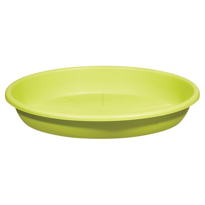 "Planter Saucer - ""Cilindro"" - 11.8"" - Green"