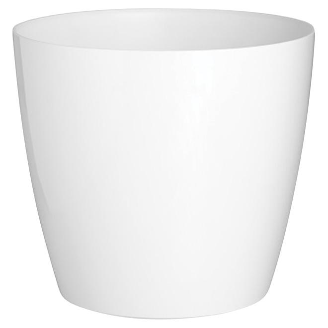 Cache-pot « San Remo », 5,5 po, blanc