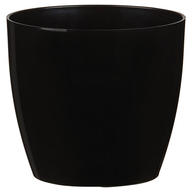 Cache-pot « San Remo », 5,5 po, noir
