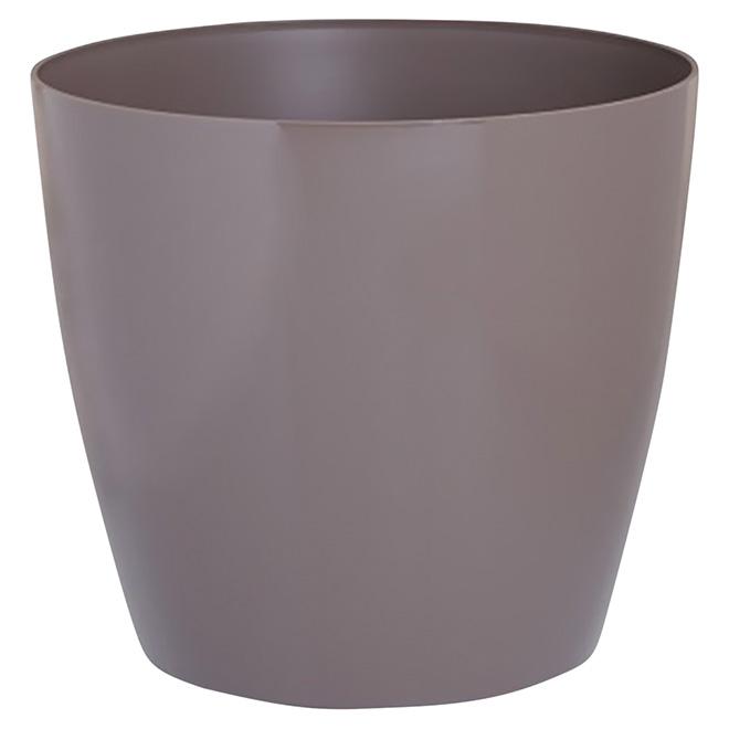 Cache-pot « San Remo », 6 po, taupe