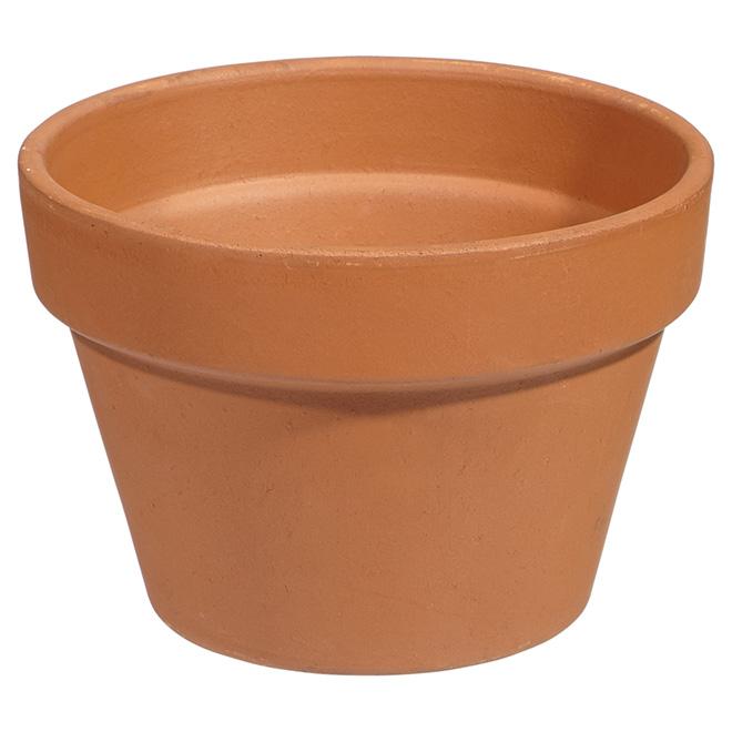 Pot de grès pour azalées, 17 cm, terre cuite