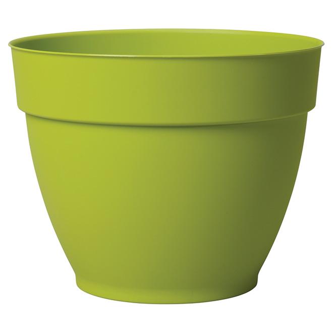 """Jardinière en plastique, Ninfea, 11 3/4"""", vert olive"""