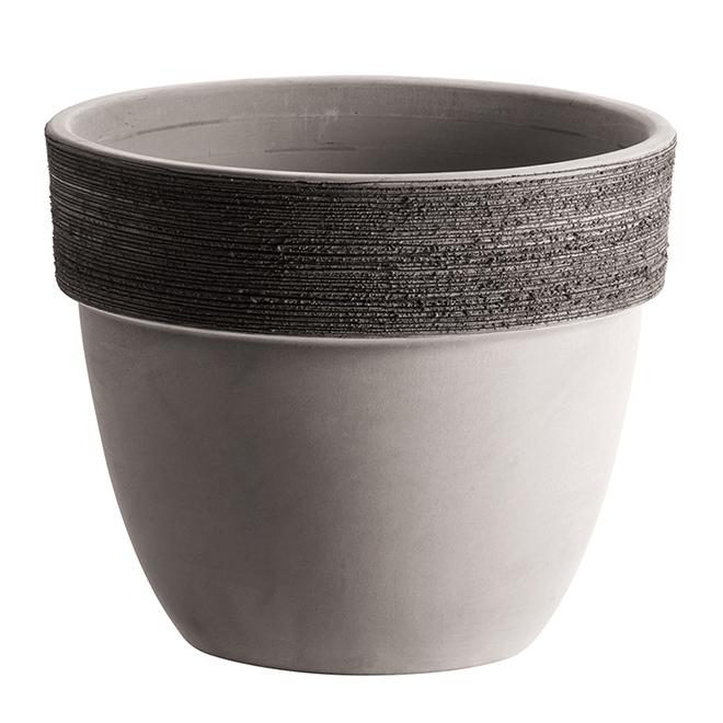 Graffiato Patavium Vase - 20 cm - Clay - Greige