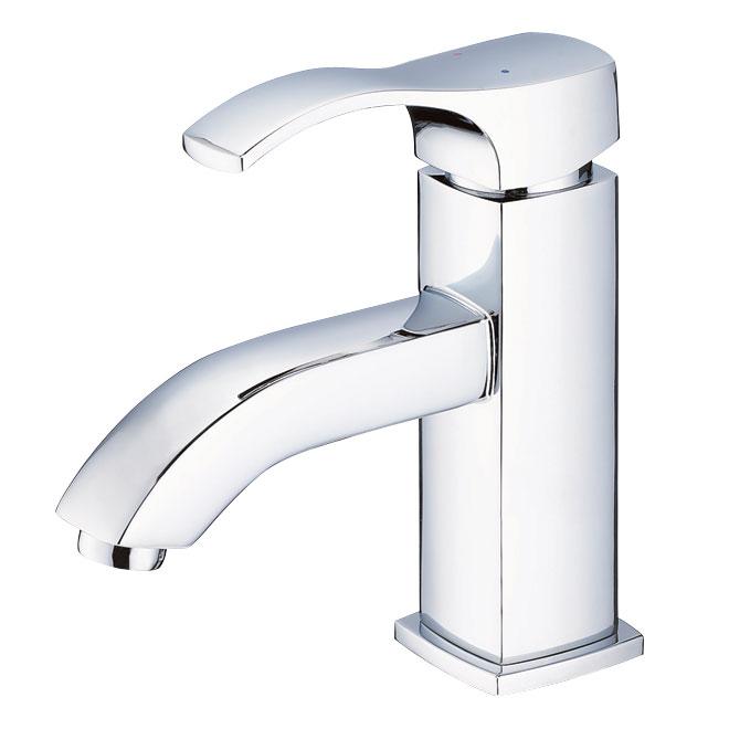 UBERHAUS - Single Lever Lavatory Faucet - Andrea - Chrome | Réno-Dépôt