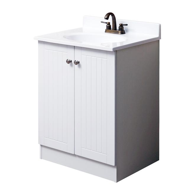 FACTO Meuble-lavabo 25 po YG2519W | Réno-Dépôt