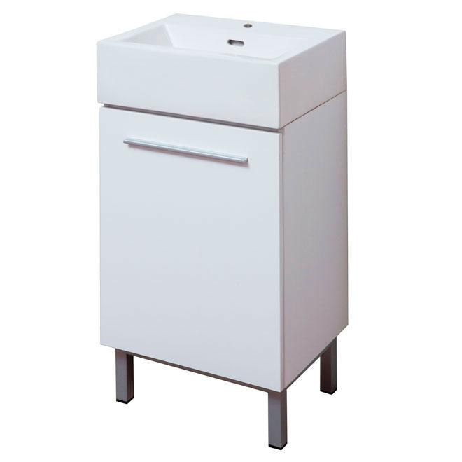 Meuble-lavabo « Soho », blanc