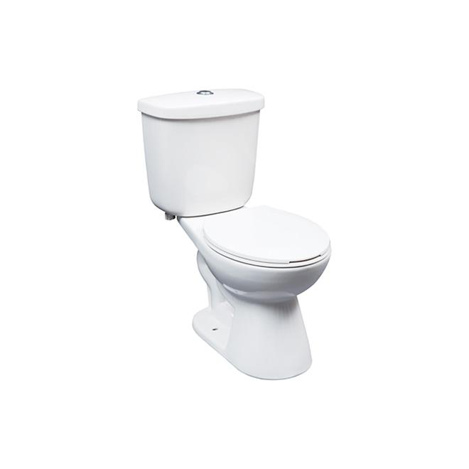 Toilette ronde 2 pièces