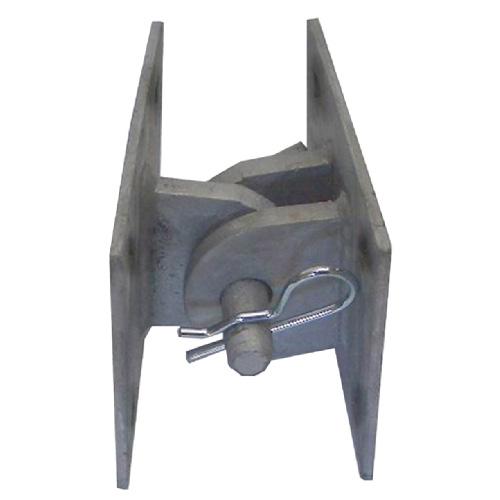 """""""T-Model"""" Dock Connector Hinge - Steel - Grey - 5""""x5""""x3"""""""