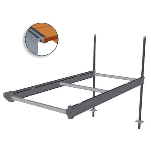 """""""QP-427"""" 4' x 8' Aluminum Boxed Dock"""