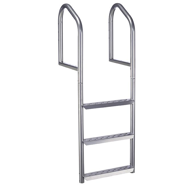 "3-Step Dock Ladder - 18"" x 18.75"" x 51"" - Aluminum"
