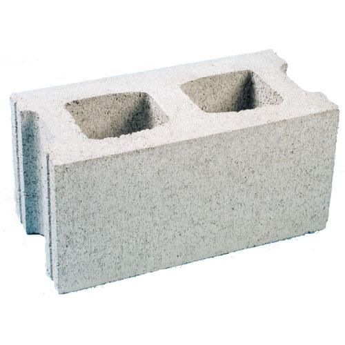 "Standard Concrete Block - 6"" x 16"" x 8"""
