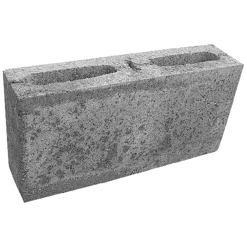 "Standard Concrete Block - 4"" x 16"" x 8"""