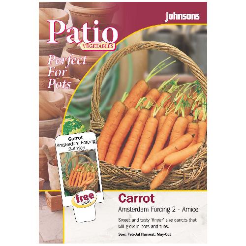 Vegetables seed packet