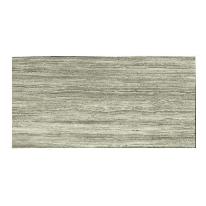 """Tile - """"Silk Steel"""" Porcelain Tile - Dark Grey"""