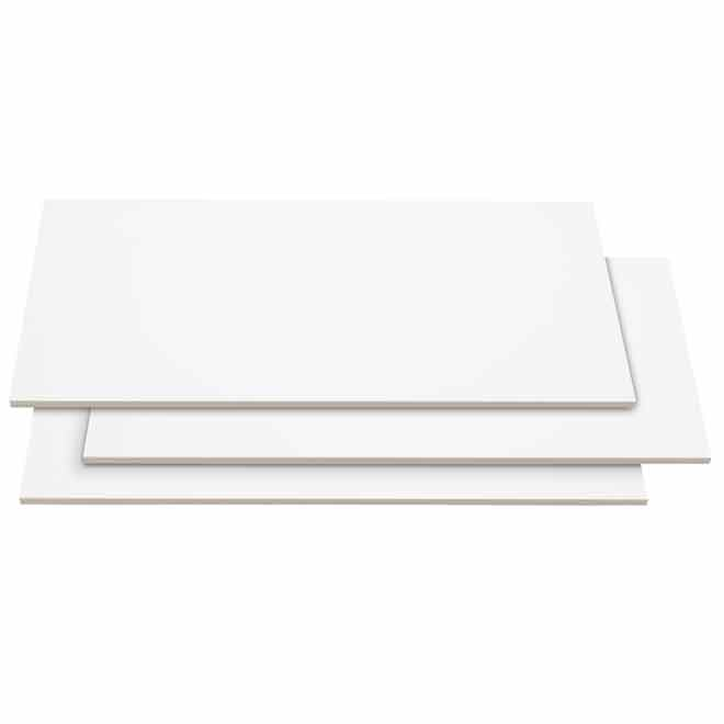 Ceramic Wall Tile 8 x 12 in - Gloss White