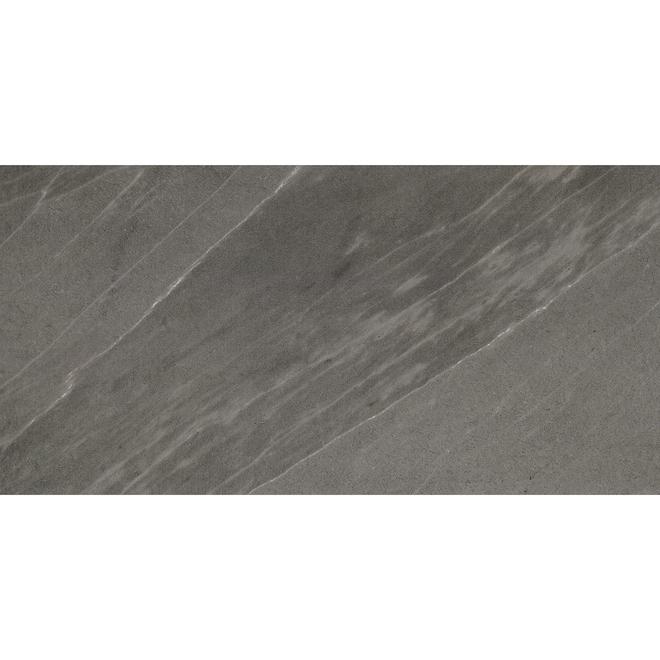 "Porcelain Tile - 12"" x 24"" - 14.42 sq. ft. - Anthracite"