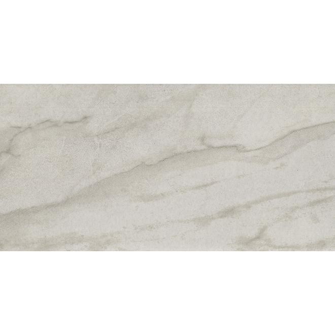"Porcelain Tile - 12"" x 24"" - 14.42 sq. ft. - Marmo"