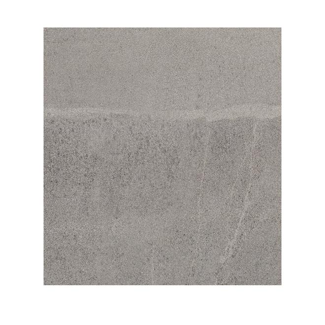 Tuile porcelaine, Mono Serra, Grade 5, 12'' x 12'', gris