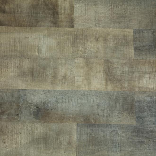 Arizona Vinyl Floor - 27.76 sq. ft. - 4 mm - SPC - Brown