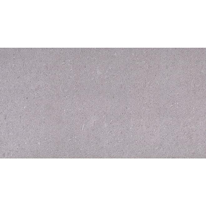 Tuile porcelaine, Mono Serra, 12'' x 24'', 8/pqt, gris