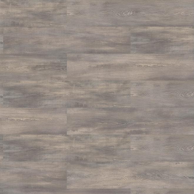 Plancher stratifié de Mono Serra, HDF, 11,93 pi2, effet bois gris, emballage de 8