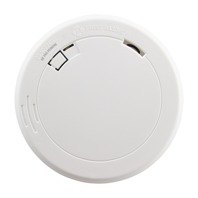 Smoke Detector Photoelectric - Slim - Batttery Operated