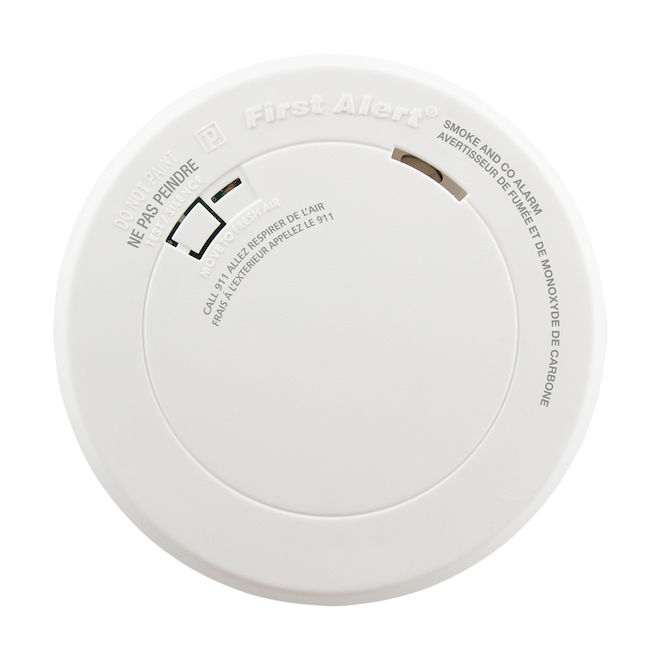 Smoke/Carbon Monoxide Alarm First Alert - Battery Operated