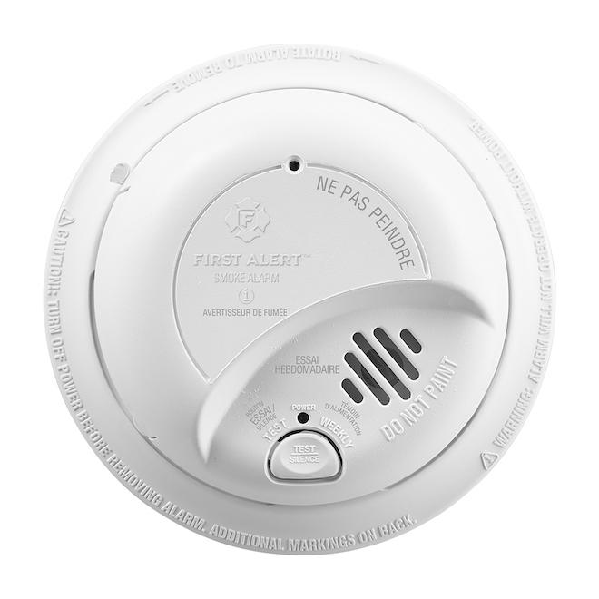 BRK Smart Smoke Detector - Hardwired 120 VAC - Ionization