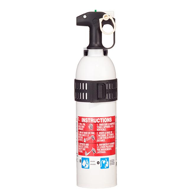 Marine Extinguisher Type 5-B/C - Metal - 2.5 lb - White