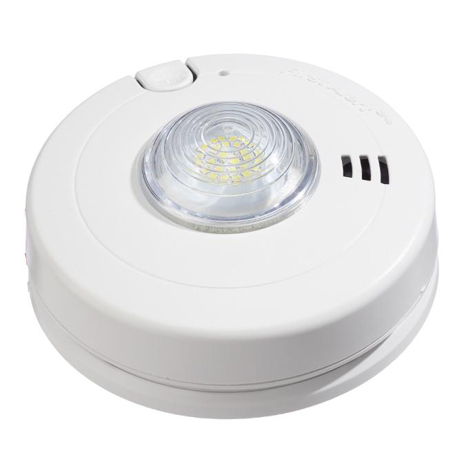 BRK Smoke Alarm - LED Strobe - Hardwired