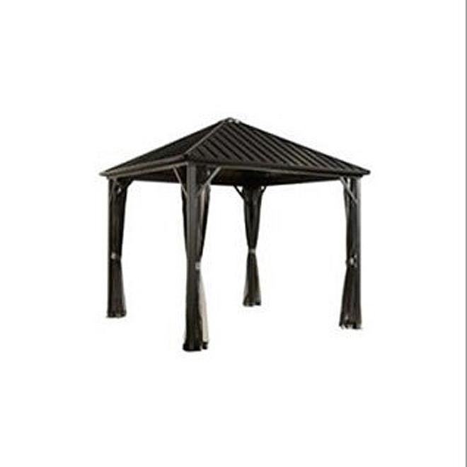 Rideau pour pavillon de jardin, 10\' x 12\', moka TP-GAZ1695C | Réno-Dépôt