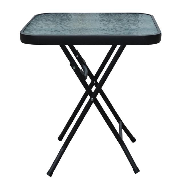 """Table d'appoint pliante pour patio, 18"""" x 18"""""""