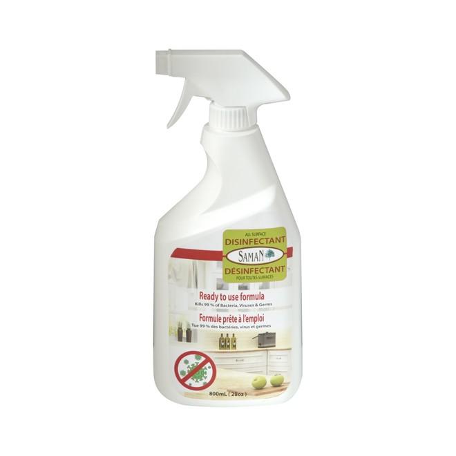 Produit désinfectant tout usage Saman, 800 ml