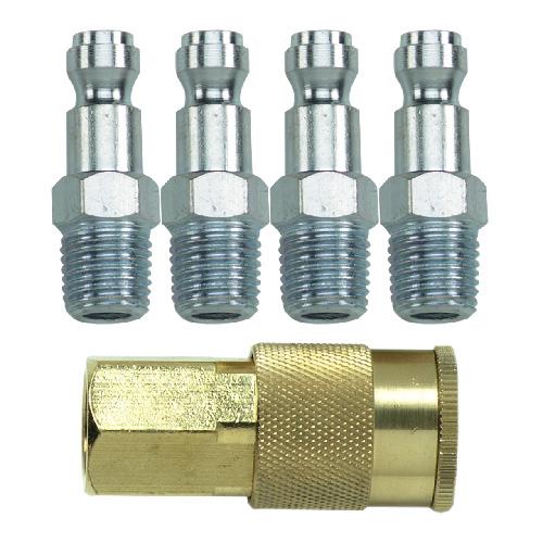 Coupler and Plug Set - 5-Piece