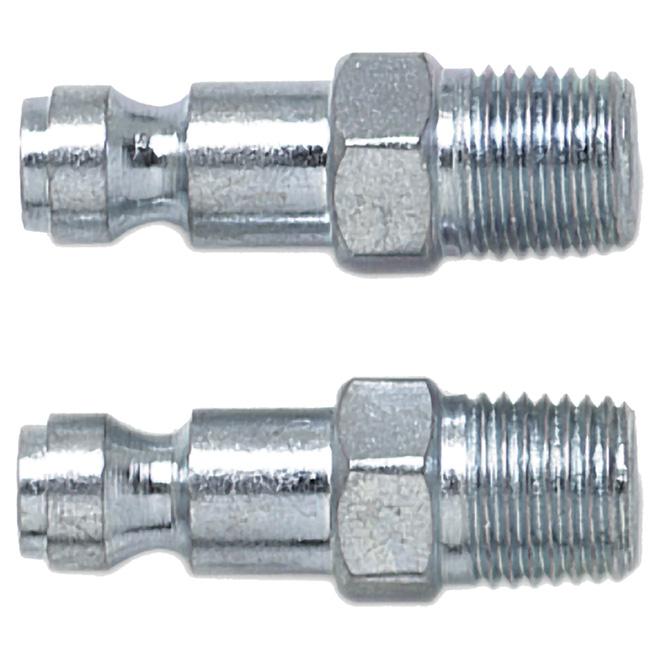 "Air Compressor Automotive Plug - 1/4"" Male"