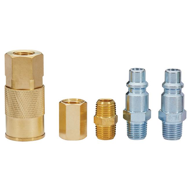 "Air Compressor Connector Kit - 3/8"" - 5-Piece"