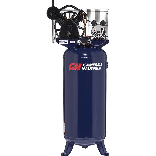 Campbell Hausfeld Vertical Air Compressor - 60-Gallon - 3.7 HP